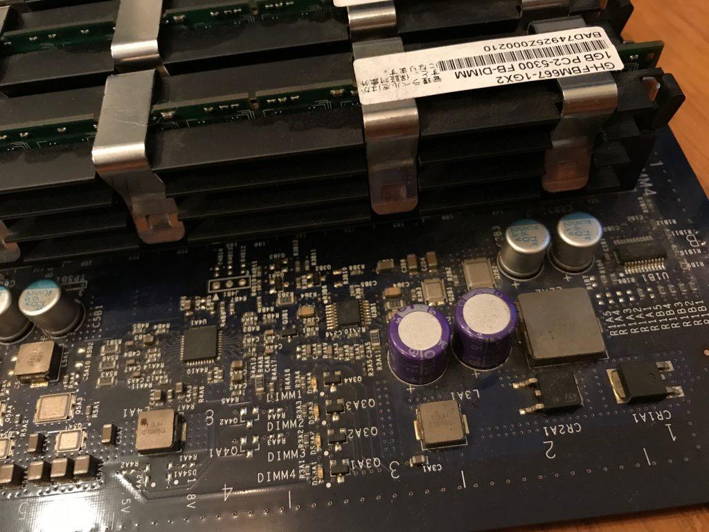 Mac Pro 2006〜2008のメモリ